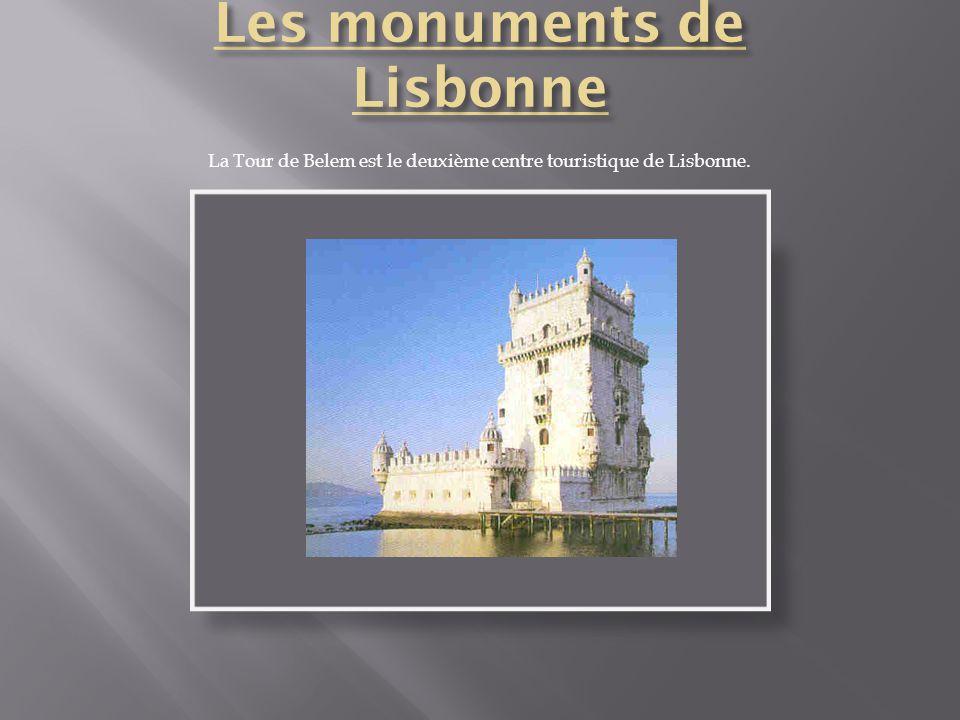 Les monuments de Lisbonne