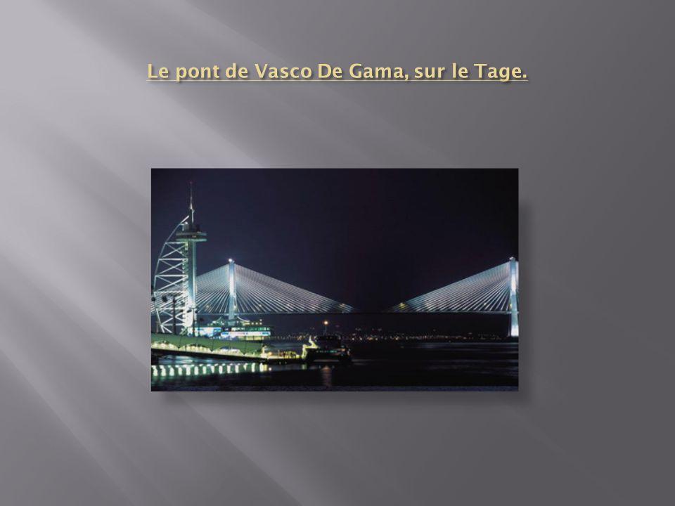 Le pont de Vasco De Gama, sur le Tage.