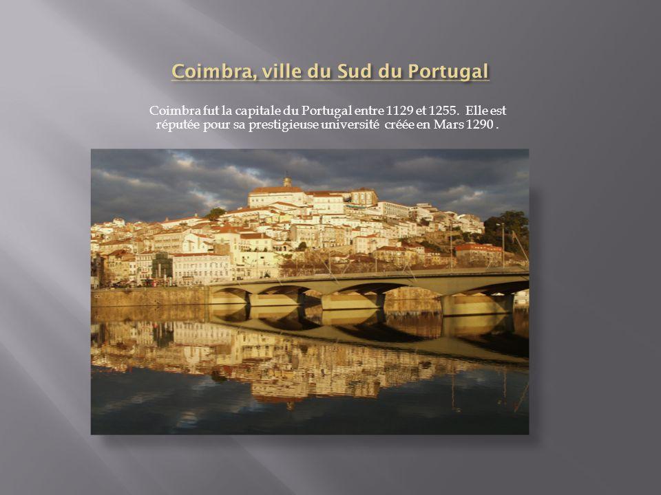 Coimbra, ville du Sud du Portugal