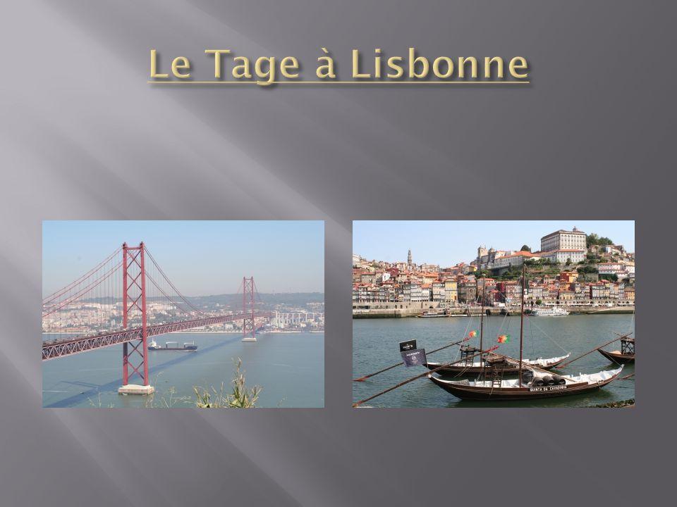 Le Tage à Lisbonne