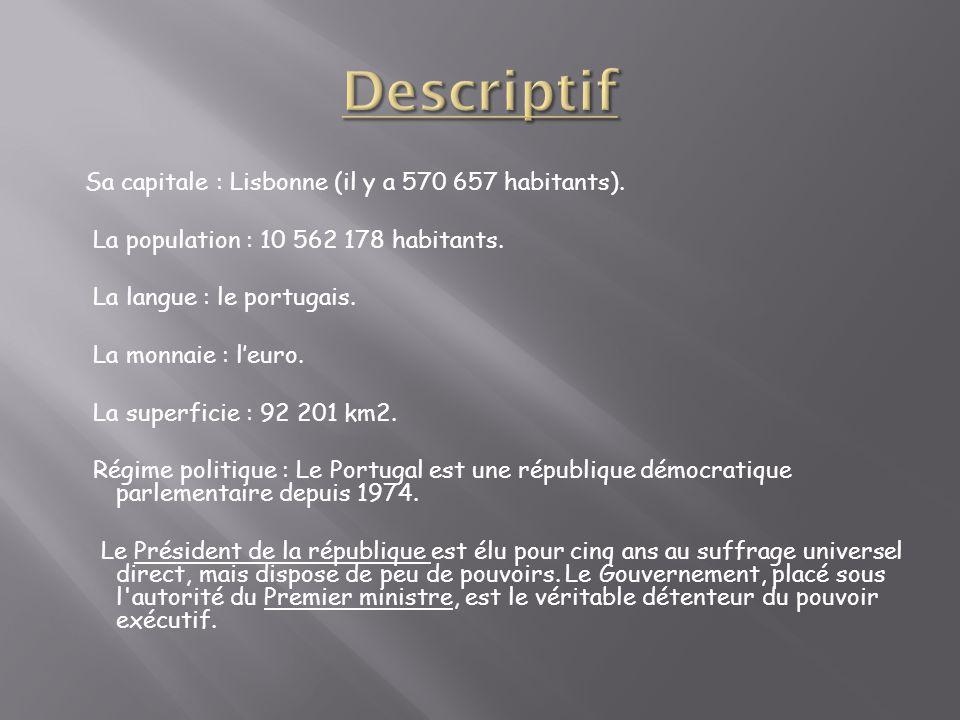Descriptif La population : 10 562 178 habitants.