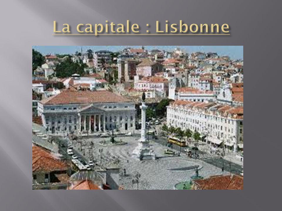 La capitale : Lisbonne