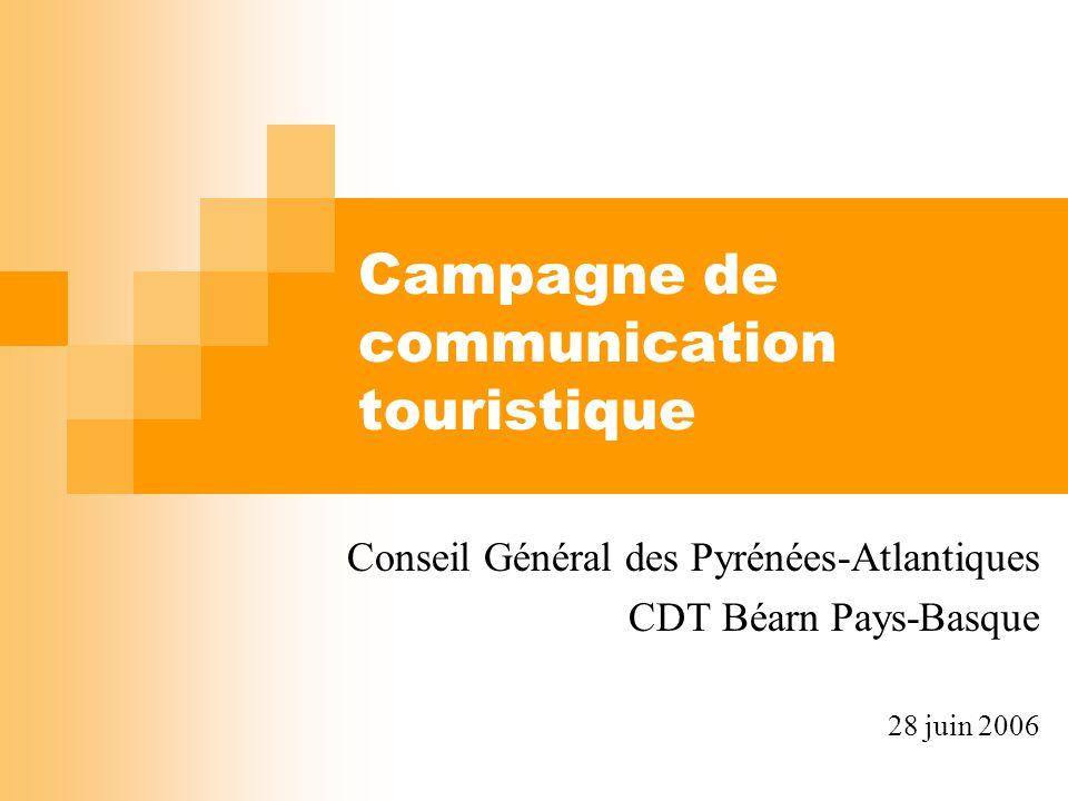 Campagne de communication touristique