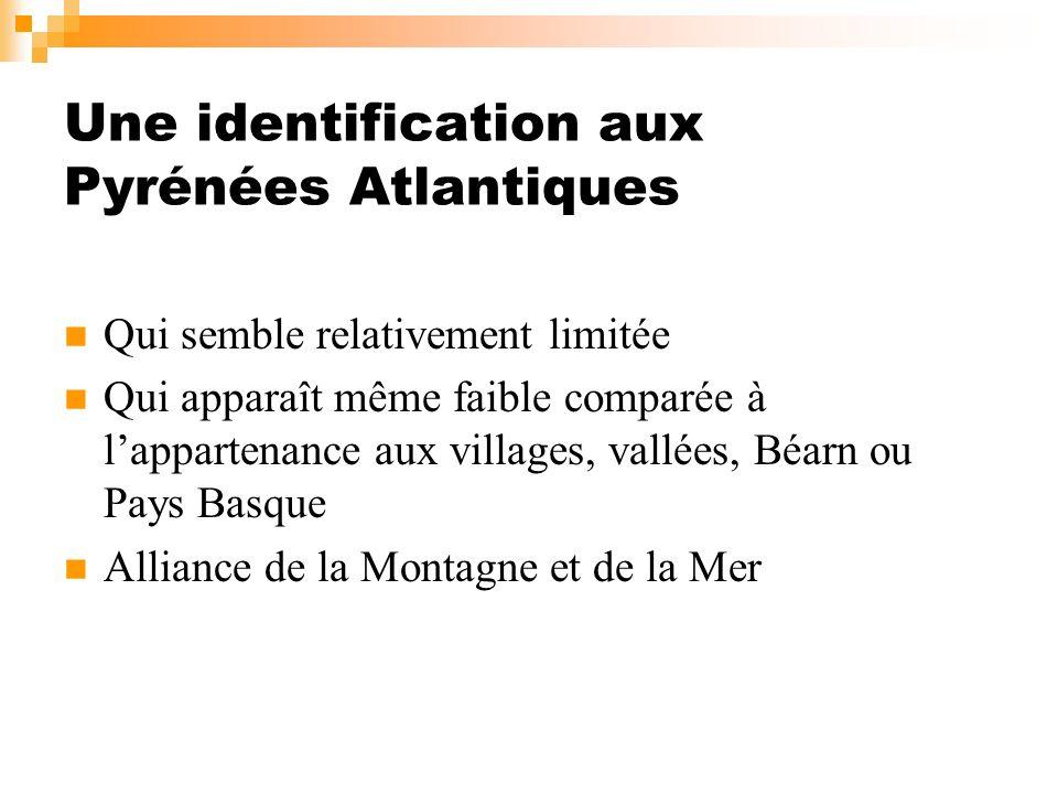 Une identification aux Pyrénées Atlantiques