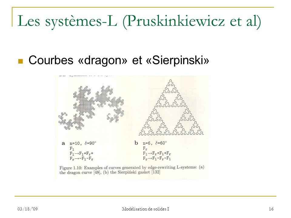 Les systèmes-L (Pruskinkiewicz et al)
