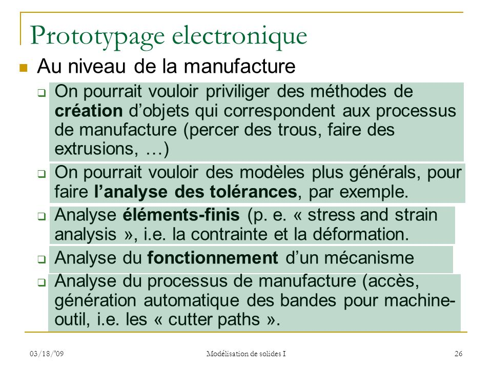 Prototypage electronique