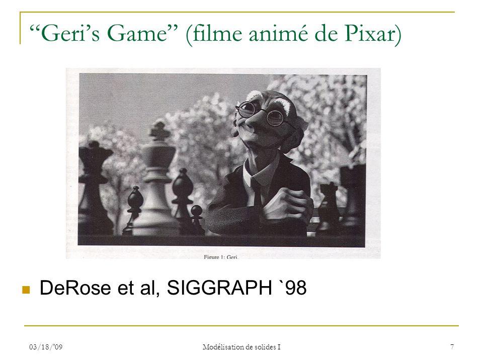 Geri's Game (filme animé de Pixar)