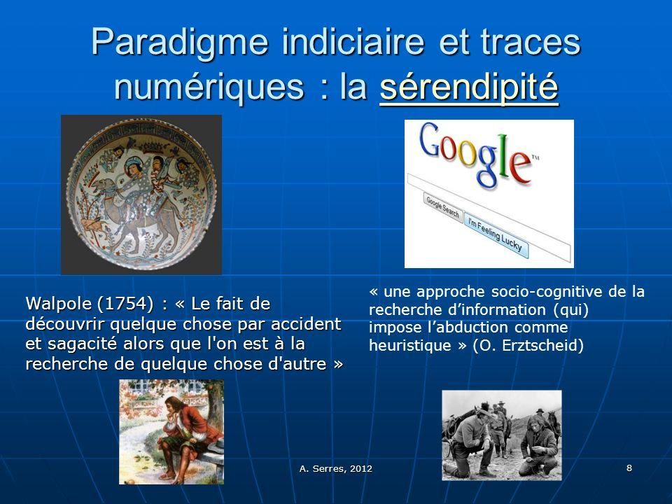 Paradigme indiciaire et traces numériques : la sérendipité