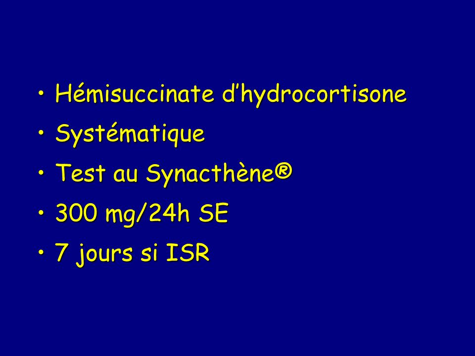 Hémisuccinate d'hydrocortisone