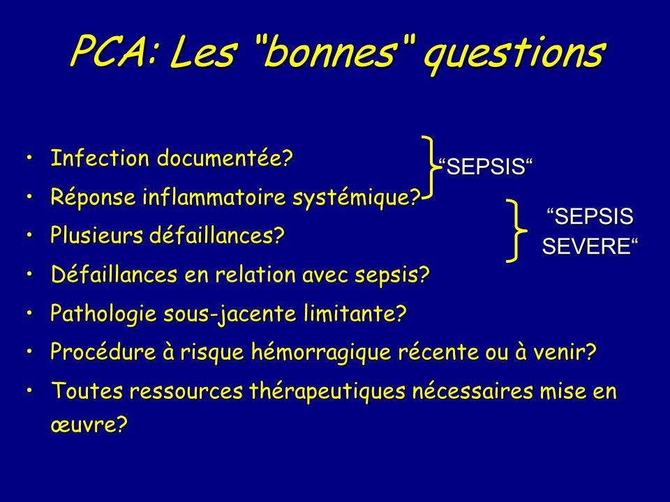PCA: Les bonnes questions