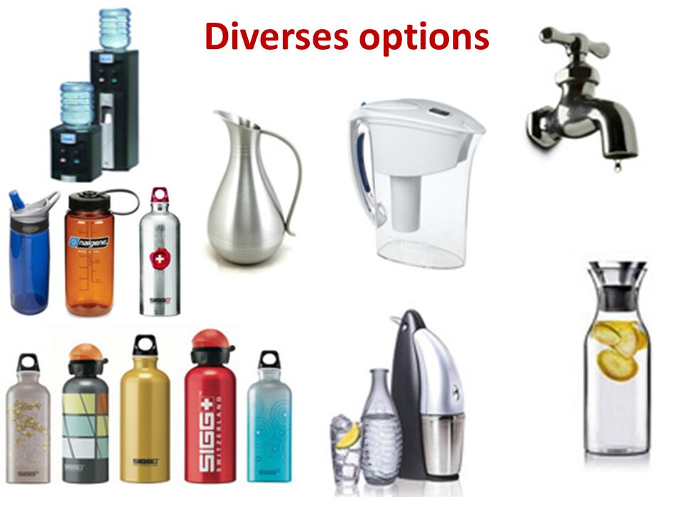 Diverses options