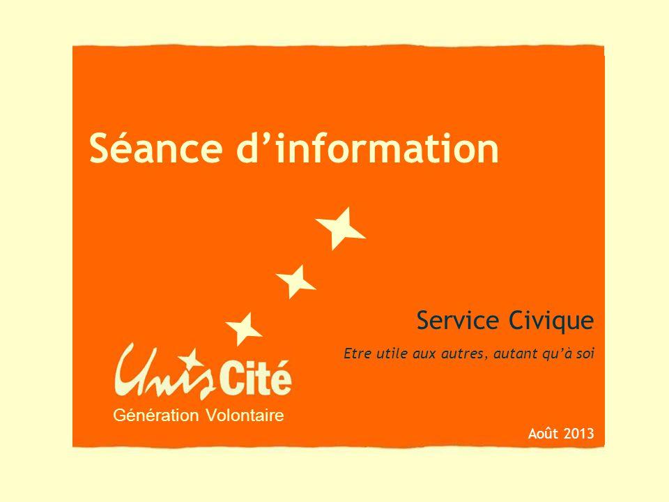 Séance d'information Service Civique