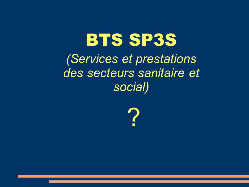 (Services et prestations des secteurs sanitaire et social)
