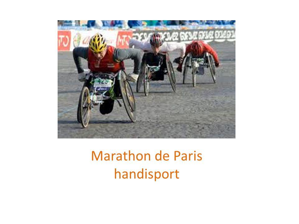 Marathon de Paris handisport