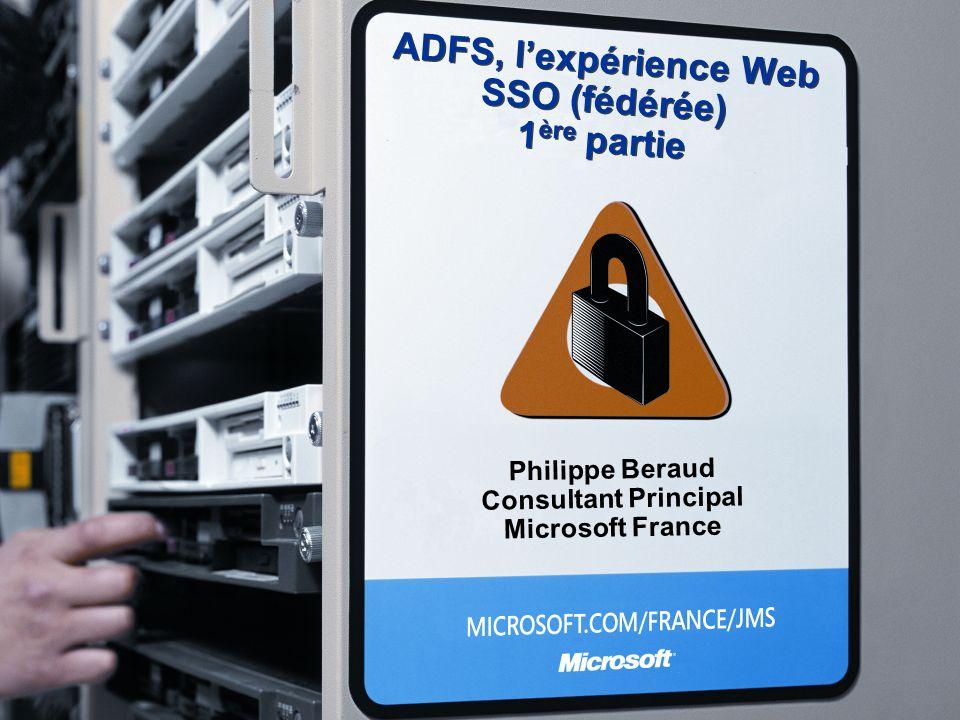 ADFS, l'expérience Web SSO (fédérée) 1ère partie