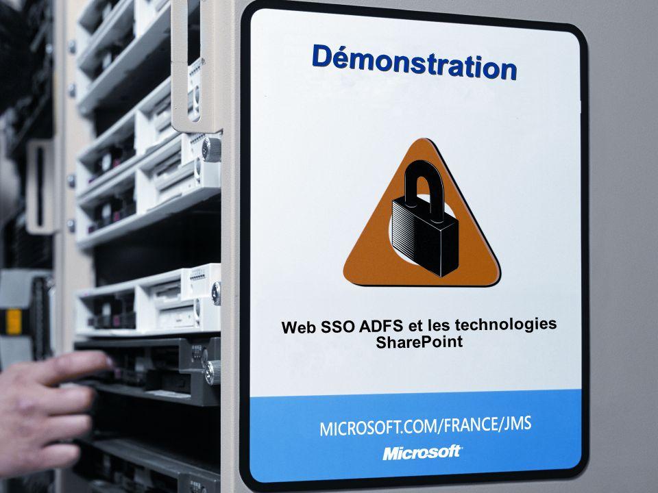 Web SSO ADFS et les technologies SharePoint