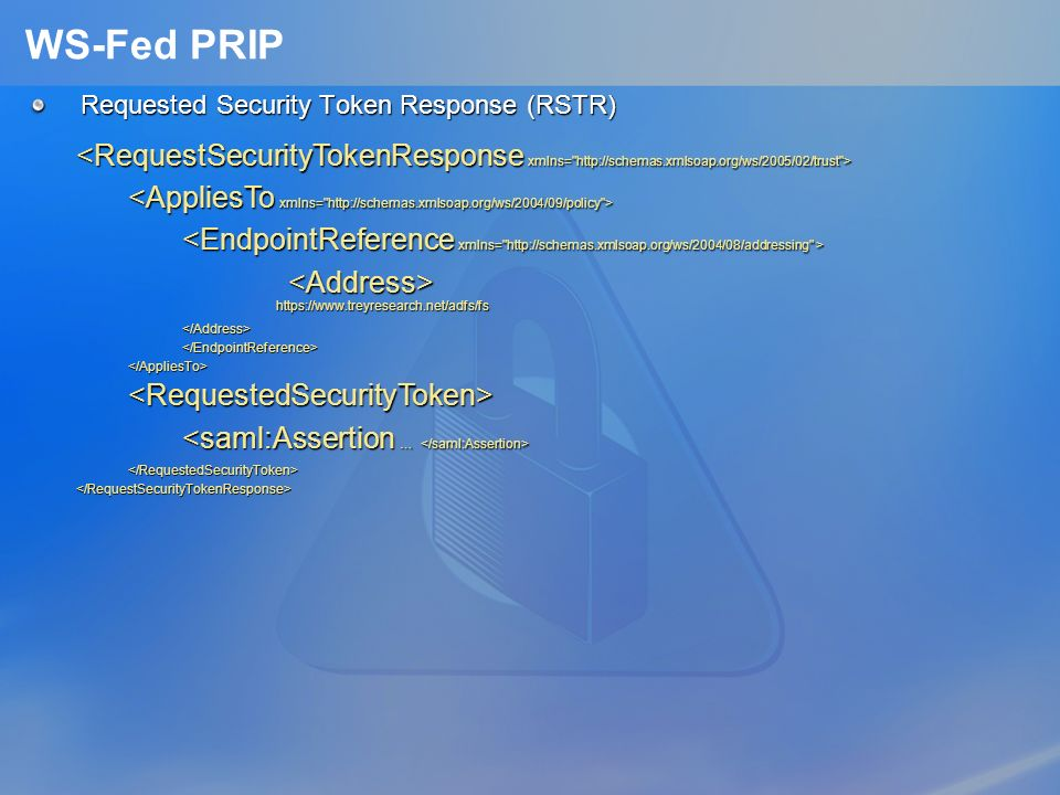 3/25/2017 1:36 AM WS-Fed PRIP. Requested Security Token Response (RSTR)