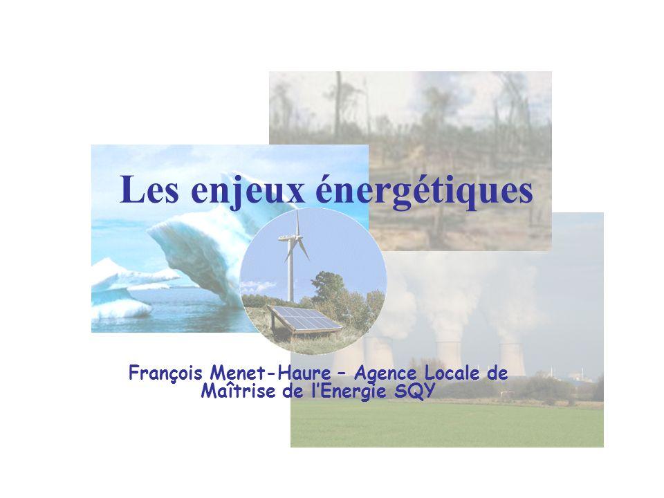 Les enjeux énergétiques