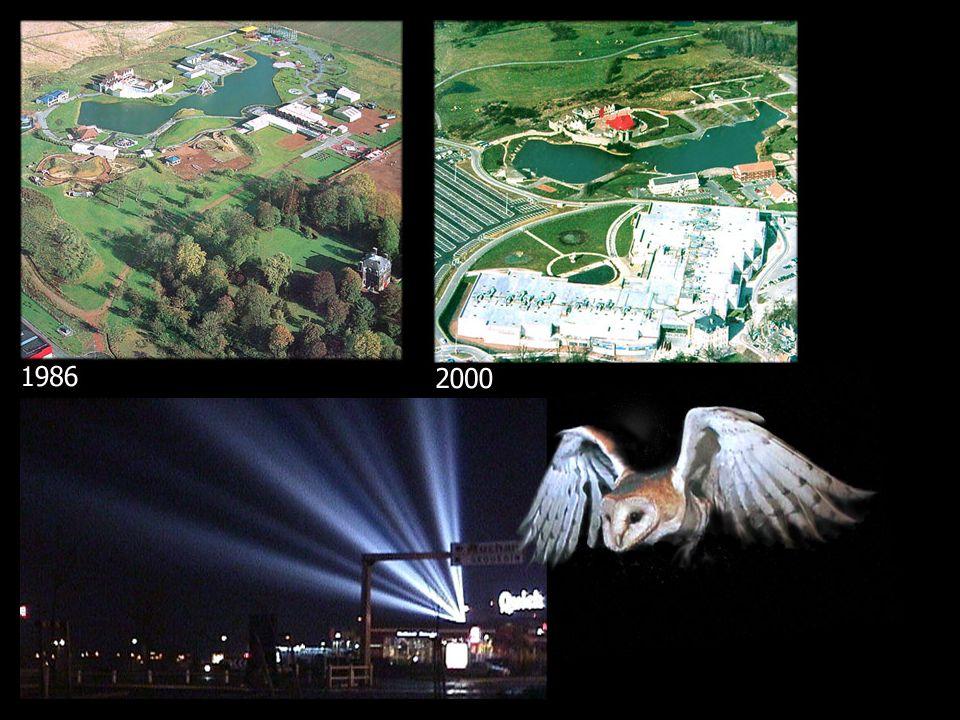 A Lomme, près de Lille, dans le Nord très urbanisé de la France, un complexe de cinémas s est installé en bordure d un parc à jeu qui a fait faillite deux ans auparavant et qui avait progressivement reconquis par une faune sauvage originale pour la région lilloise.