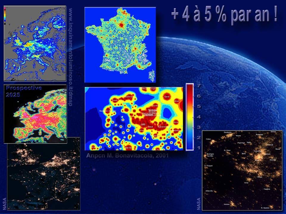 Grave pollution lumineuse (Nord/Pas-de-Calais / Picardie)