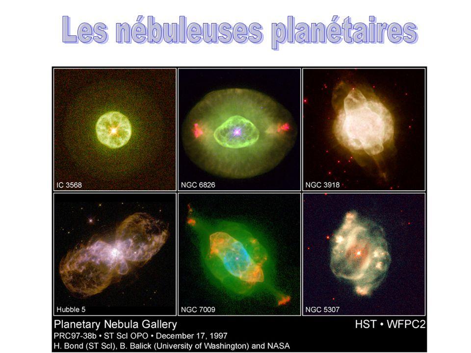 Les nébuleuses planétaires