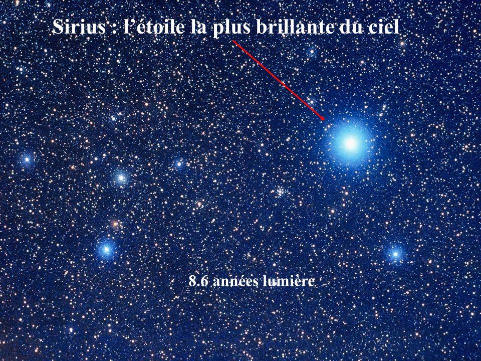 Sirius : l'étoile la plus brillante du ciel