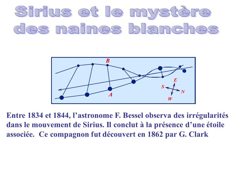 Sirius et le mystère des naines blanches