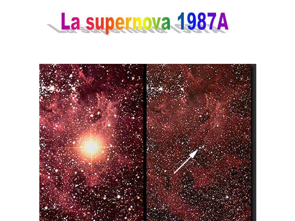 La supernova 1987A