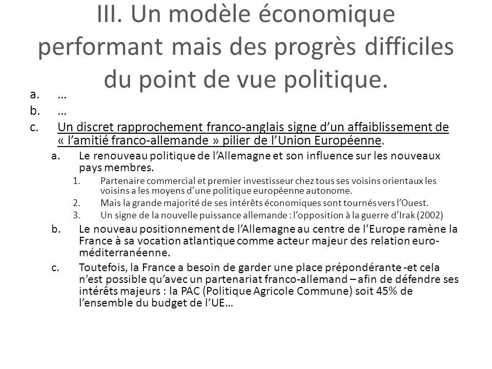La construction conomique et politique de l union - Port autonome du centre et de l ouest ...