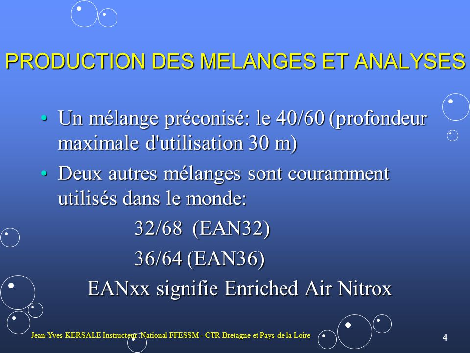 PRODUCTION DES MELANGES ET ANALYSES