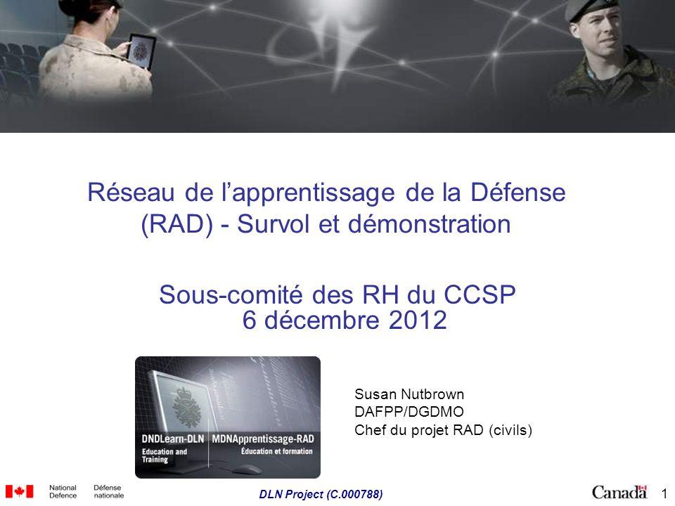 Sous-comité des RH du CCSP 6 décembre 2012