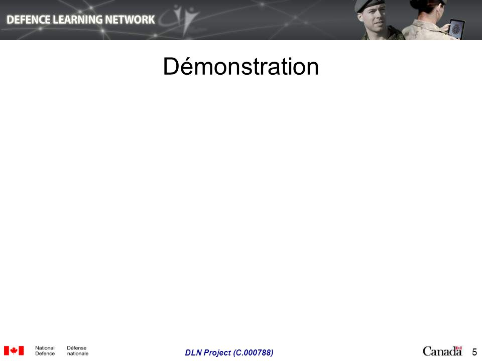 Démonstration DLN Project (C.000788)