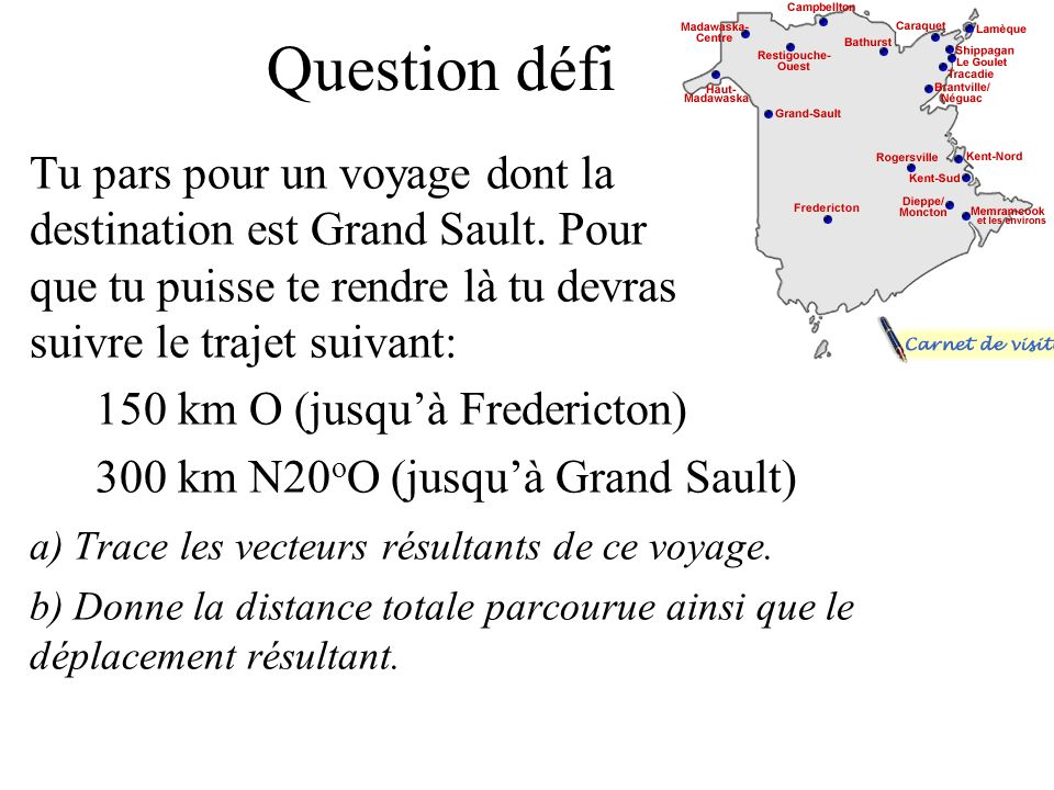 Question défi