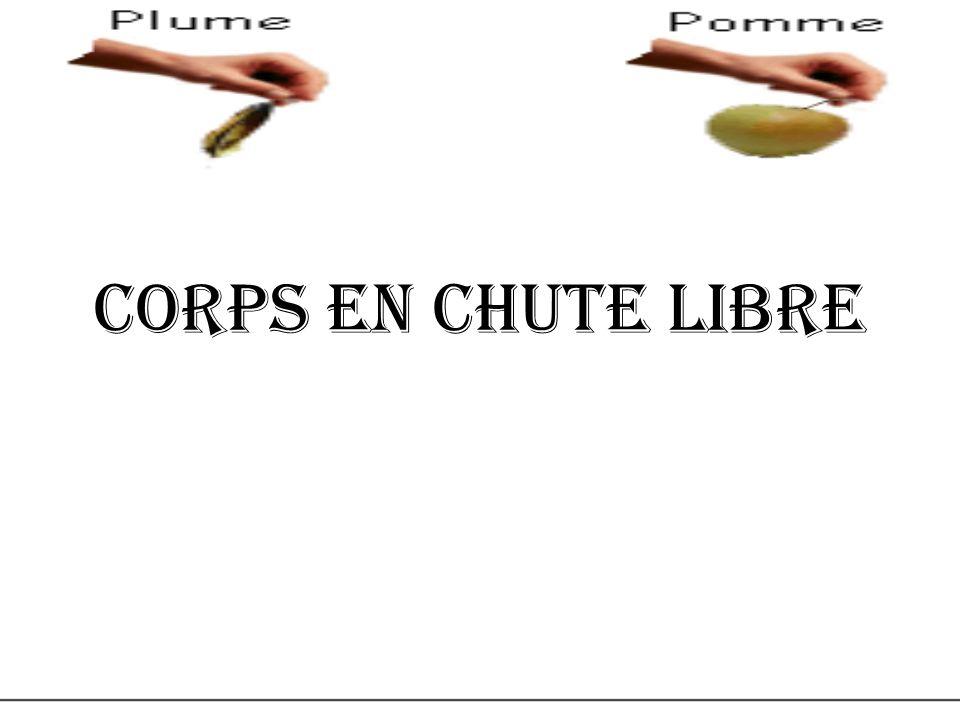 Corps en chute libre