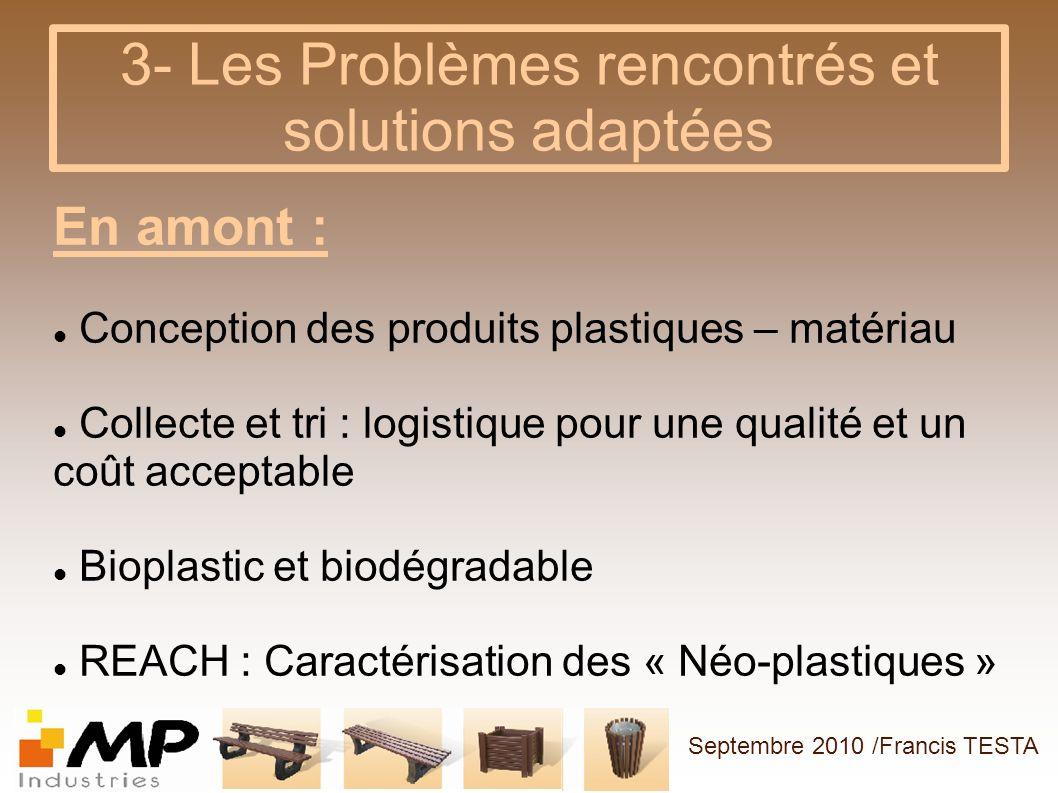 3- Les Problèmes rencontrés et solutions adaptées