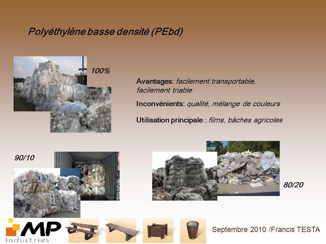 Polyéthylène basse densité (PEbd)