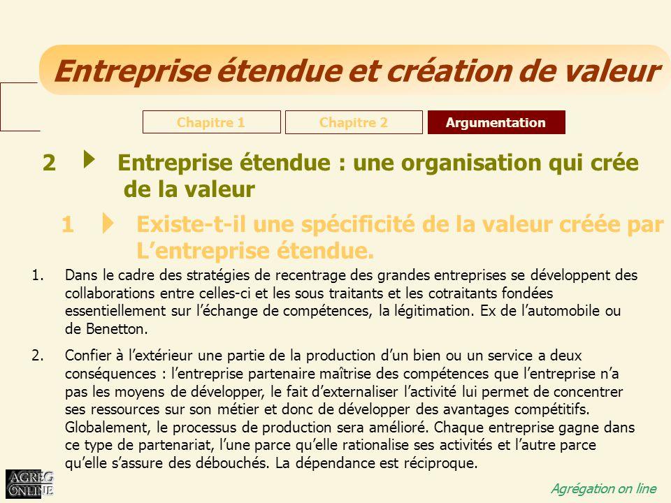 Entreprise étendue : une organisation qui crée de la valeur