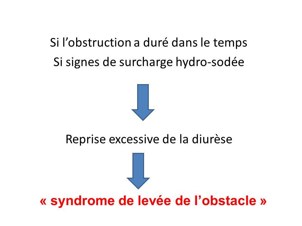 « syndrome de levée de l'obstacle »