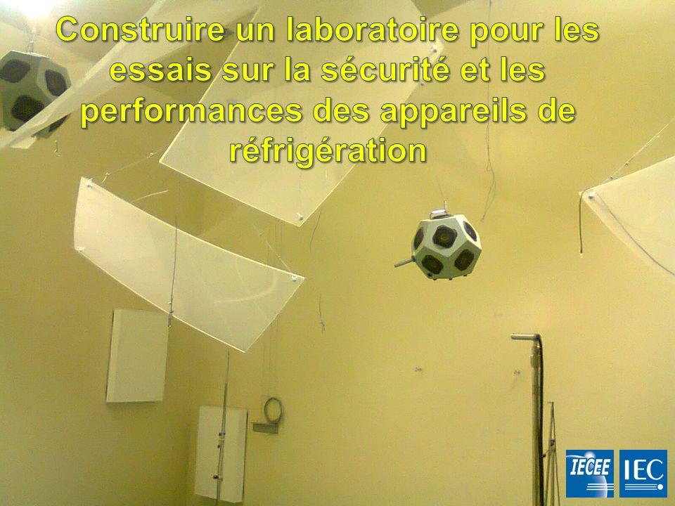 Construire un laboratoire pour les essais sur la sécurité et les performances des appareils de réfrigération