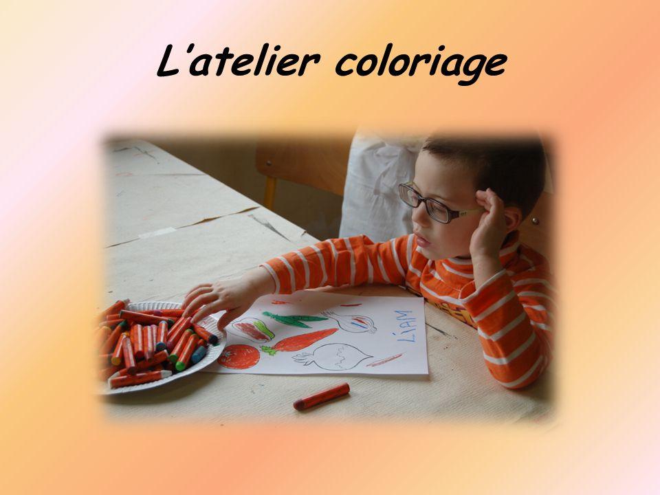 L'atelier coloriage