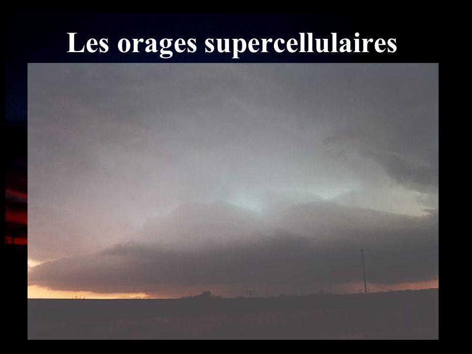 Les orages supercellulaires