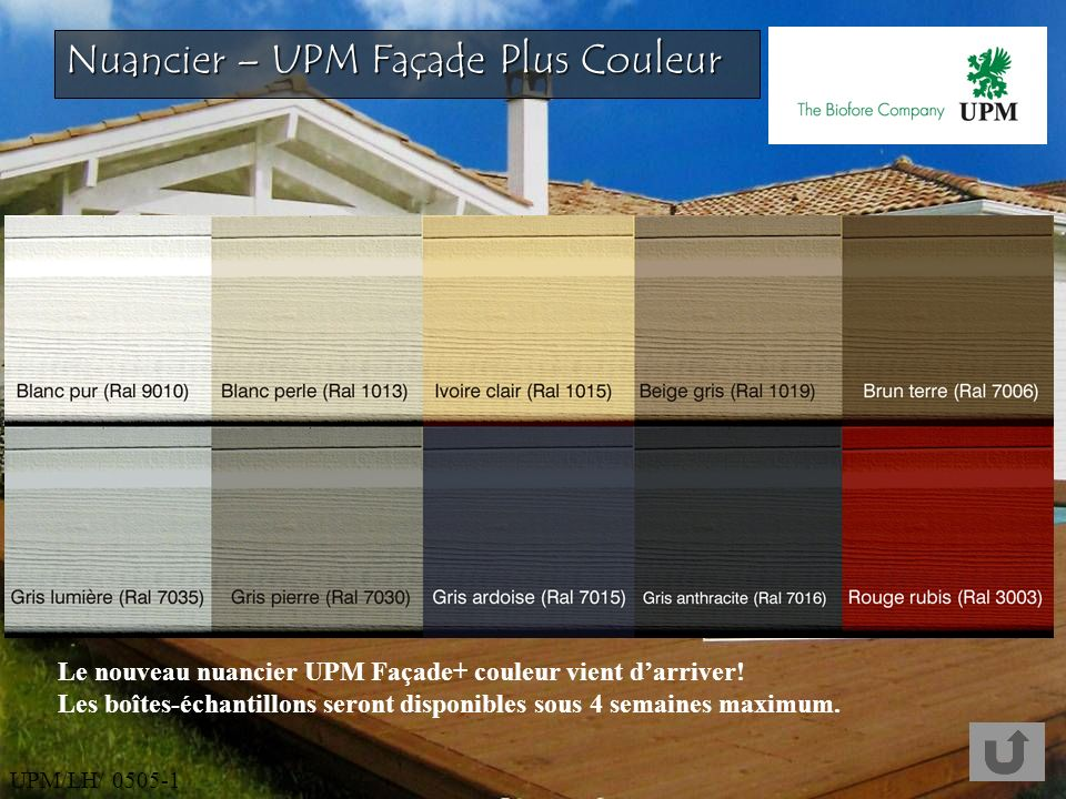 Nuancier couleur facade maison nuancier de couleur for Simulateur de facade de maison