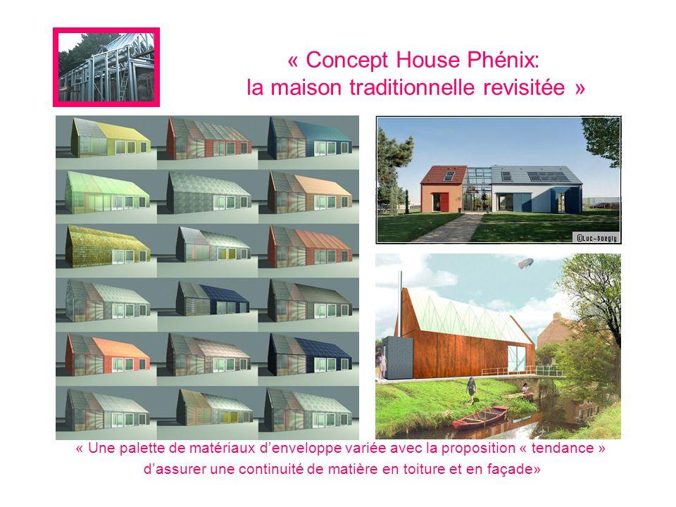 « Concept House Phénix: la maison traditionnelle revisitée »