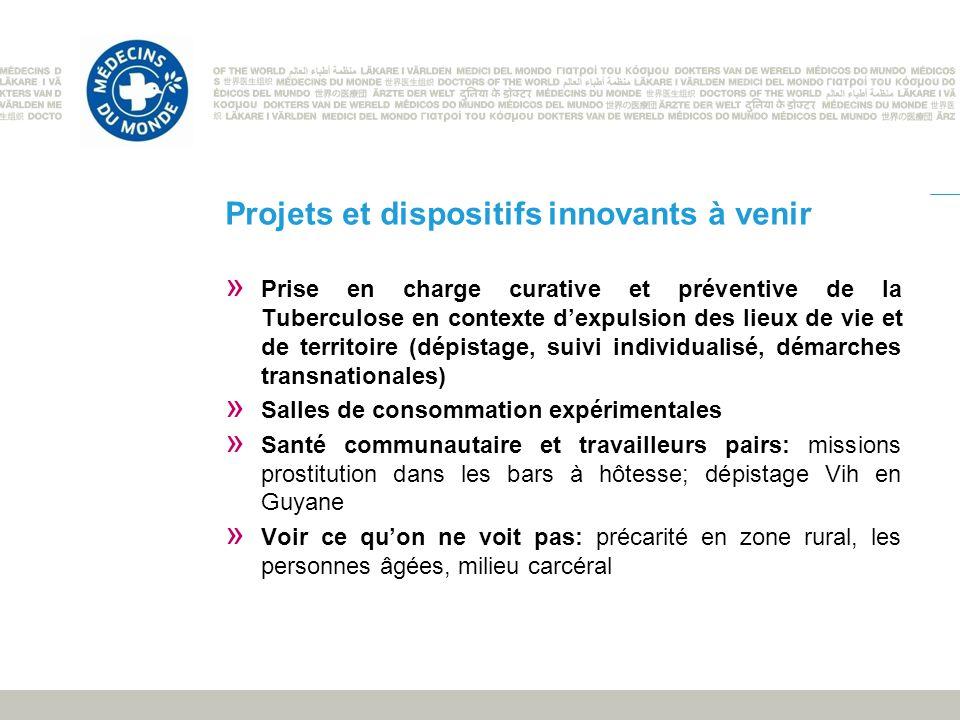 Projets et dispositifs innovants à venir