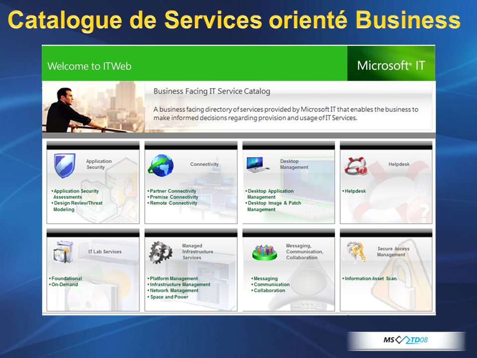 Catalogue de Services orienté Business