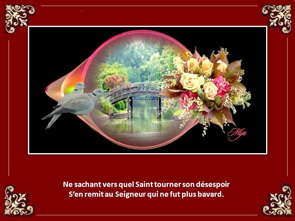 Ne sachant vers quel Saint tourner son désespoir