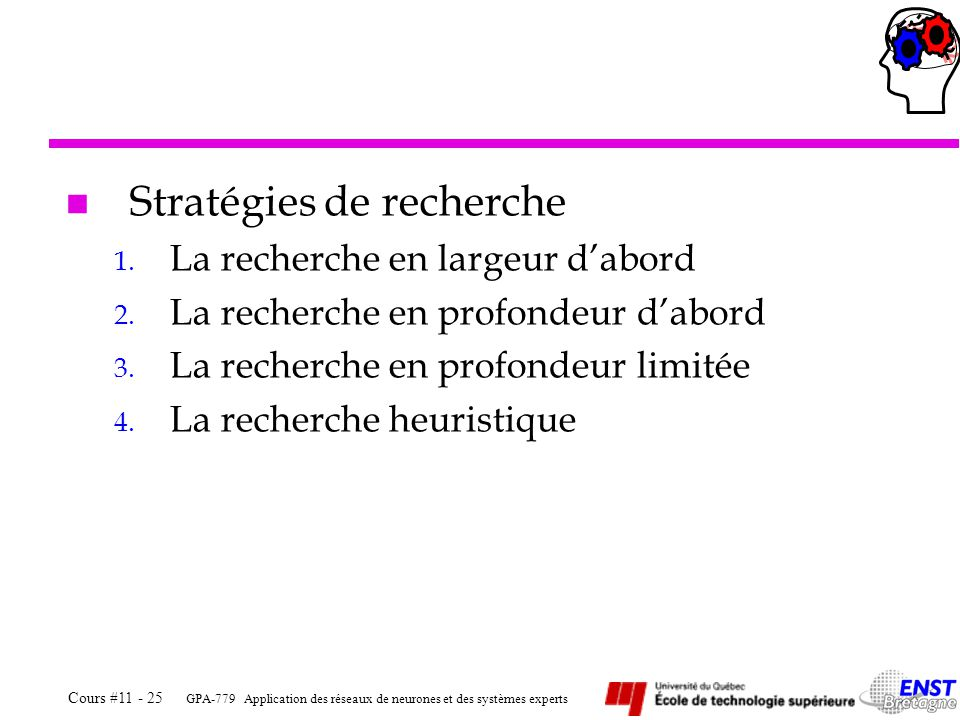 Stratégies de recherche