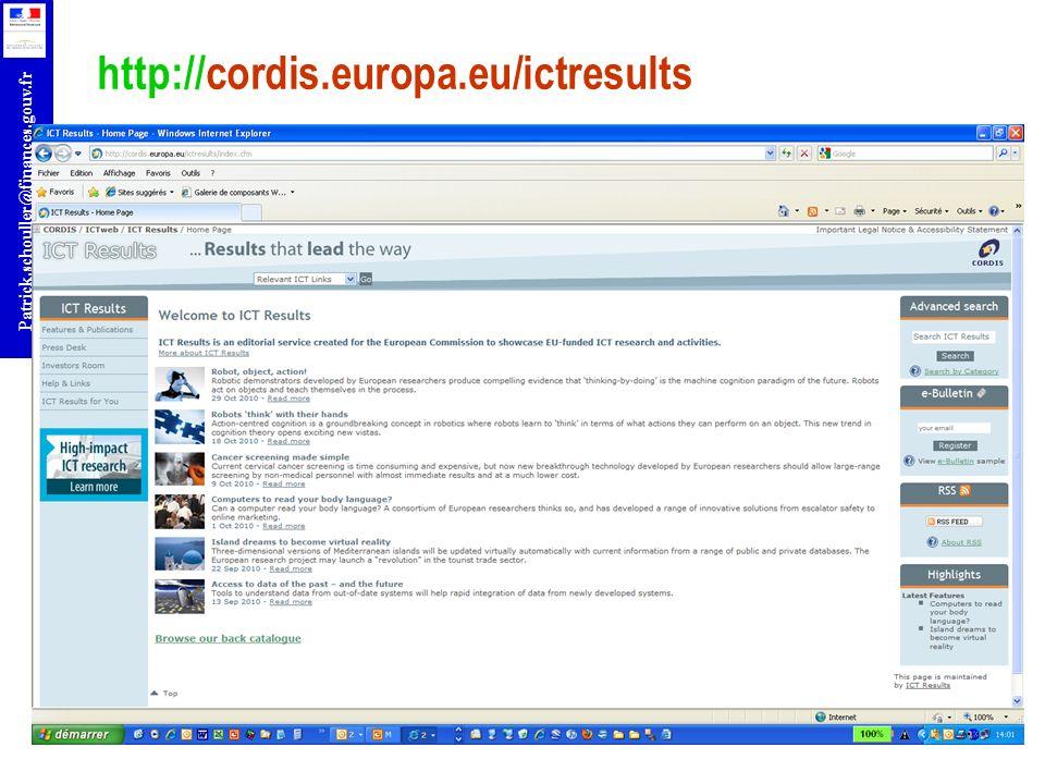 http://cordis.europa.eu/ictresults