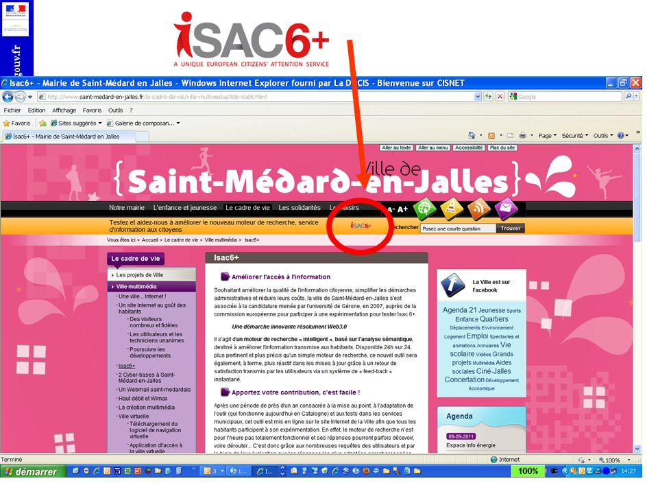 PROJET ISAC6 +