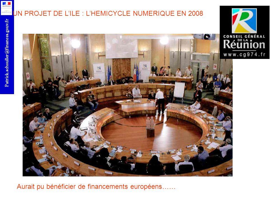 UN PROJET DE L'ILE : L'HEMICYCLE NUMERIQUE EN 2008